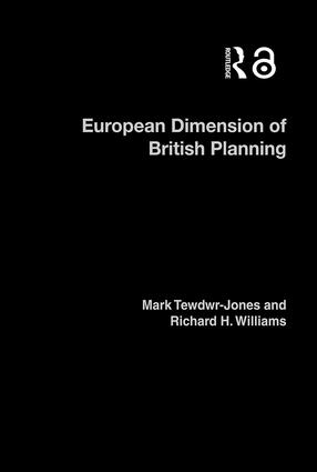The European Dimension of British Planning
