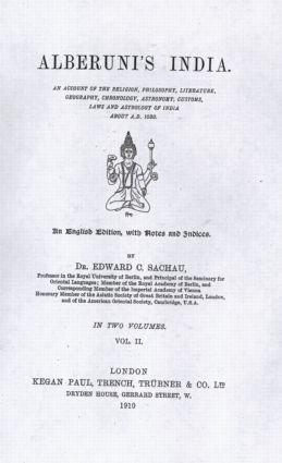 Trübner's Oriental Series: 1st Edition (Hardback) book cover