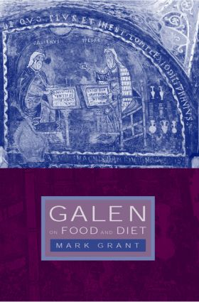Galen on Food and Diet: 1st Edition (Paperback) book cover