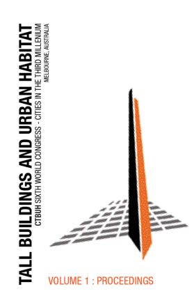 Tall Buildings and Urban Habitat: 1st Edition (Hardback) book cover
