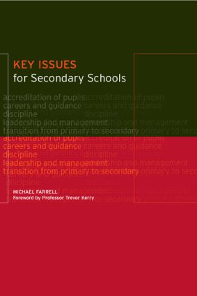 Key Issues for Secondary Schools
