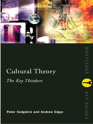 Cultural Theory: The Key Thinkers (Paperback) book cover