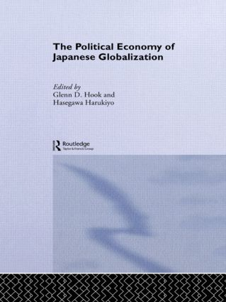 The Political Economy of Japanese Globalisation book cover
