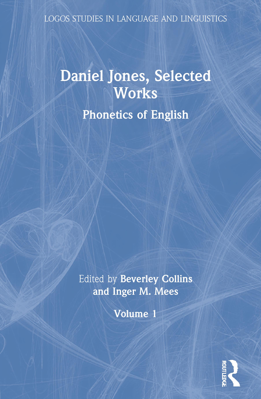 Daniel Jones, Selected Works: Volume I