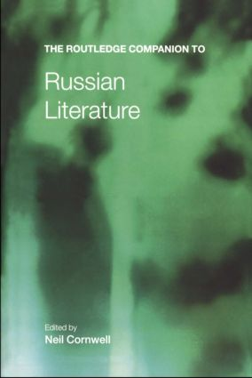 The Routledge Companion to Russian Literature book cover