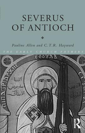 Severus of Antioch (Paperback) book cover