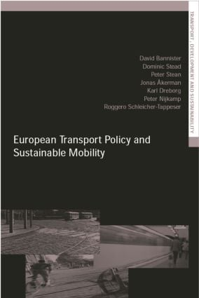 European Transport Policy and Sustainable Mobility (Paperback) book cover