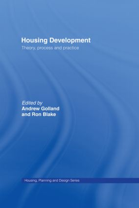 Housing Development: Theory, Process and Practice book cover