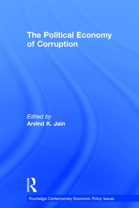The Political Economy of Corruption (Hardback) book cover