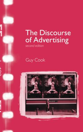 The Discourse of Advertising: 2nd Edition (Hardback) book cover