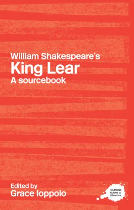 William Shakespeare's King Lear: A Sourcebook (Paperback) book cover