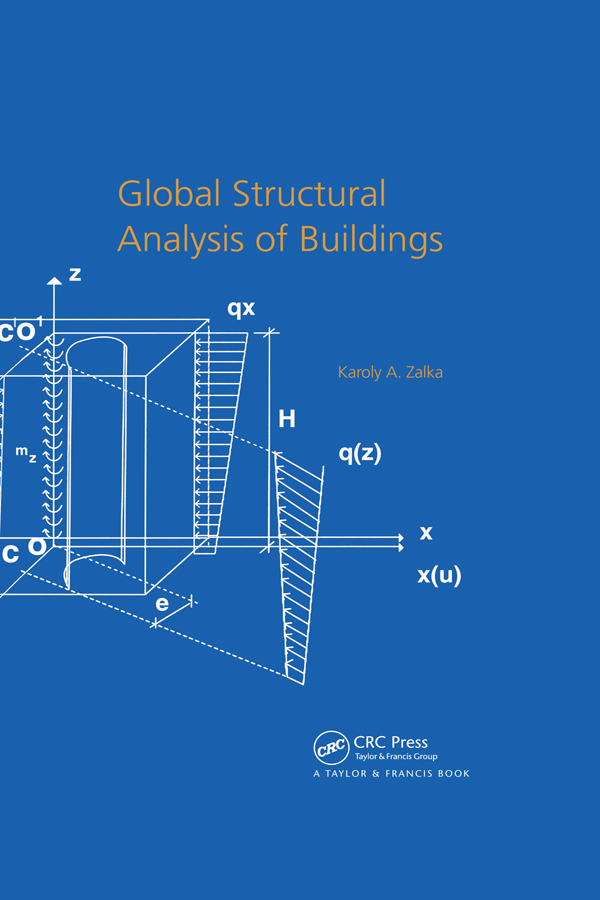 Global Structural Analysis of Buildings: 1st Edition (Hardback) book cover