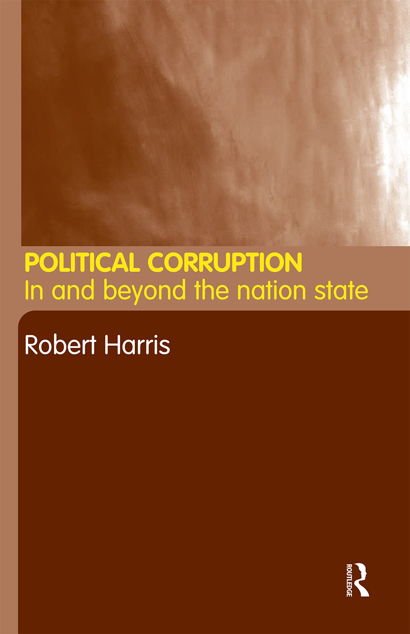 Political Corruption: In Beyond the Nation State, 1st Edition (Paperback) book cover