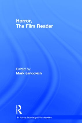 Horror, The Film Reader book cover