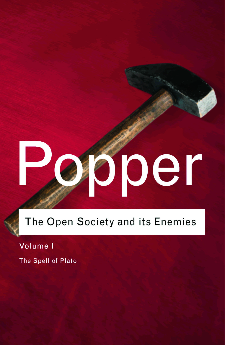 The Open Society and its Enemies: The Spell of Plato, 1st Edition (Hardback) book cover