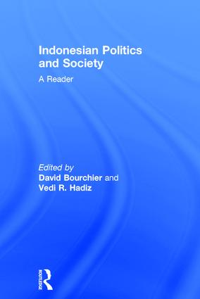 Indonesian Politics and Society: A Reader book cover