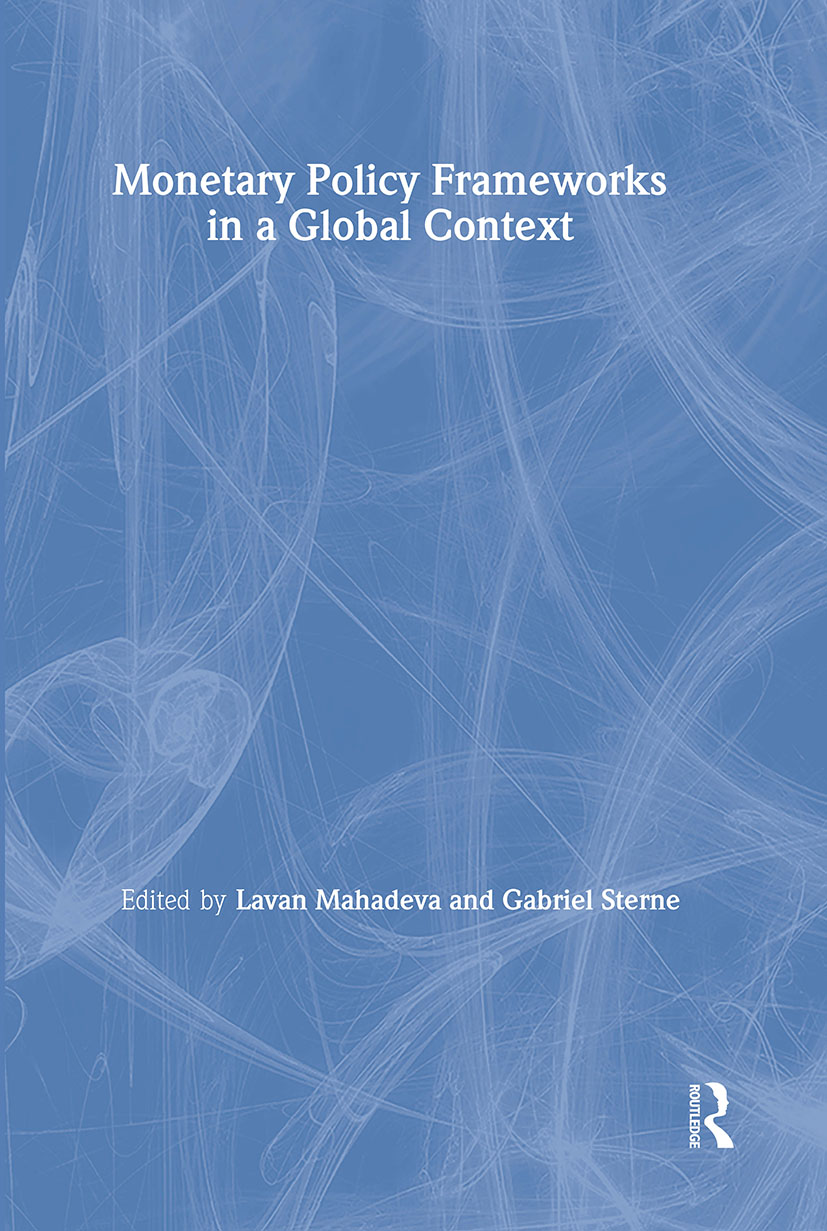 Monetary Policy Frameworks in a Global Context (Paperback) book cover