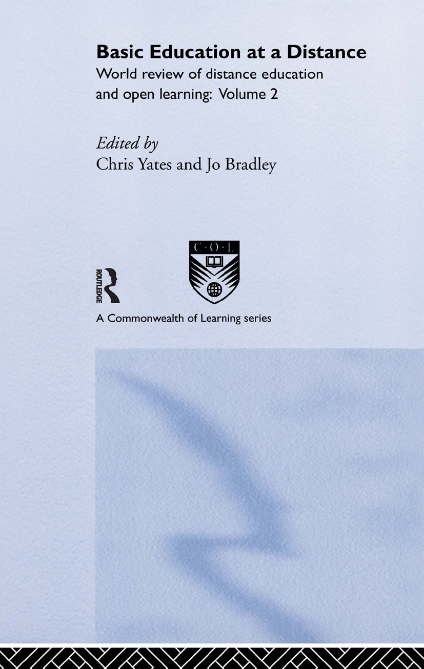 Basic Education at a Distance: World Review of Distance Education and Open Learning: Volume 2, 1st Edition (Hardback) book cover
