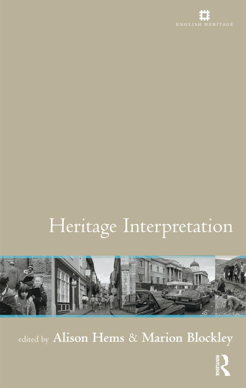 Heritage Interpretation: 1st Edition (Paperback) book cover