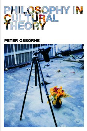 Philosophy in Cultural Theory (Paperback) book cover