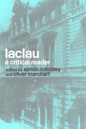 Laclau: A Critical Reader (Paperback) book cover