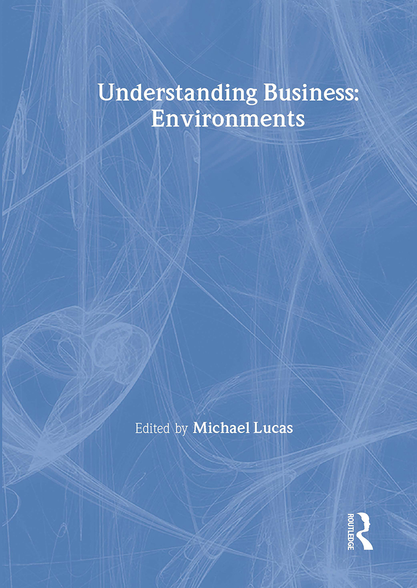 Understanding Business Environments book cover