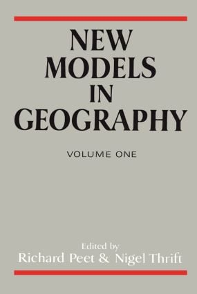 New Models In Geog V 1: 1st Edition (Paperback) book cover