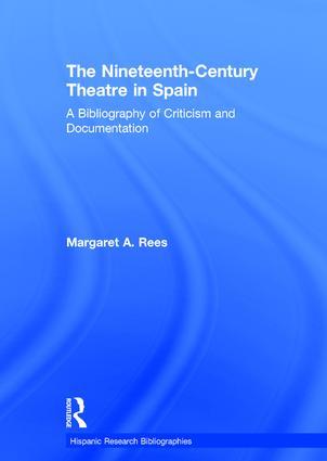 Nineteen Cent Theat Spain:Bib book cover