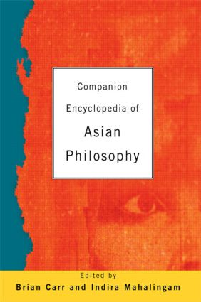 Companion Encyclopedia of Asian Philosophy (Paperback) book cover