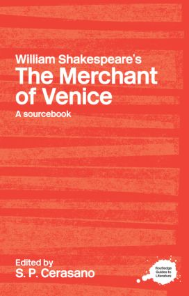 William Shakespeare's The Merchant of Venice: A Sourcebook (Paperback) book cover