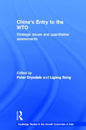 China's Entry into the World Trade Organisation (Hardback) book cover