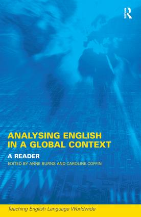 Analyzing English in a Global Context: A Reader book cover