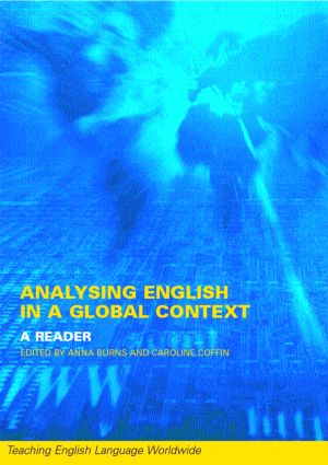 Analyzing English in a Global Context: A Reader, 1st Edition (Paperback) book cover