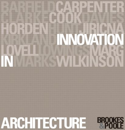 Innovation in Architecture: A Path to the Future, 1st Edition (Paperback) book cover
