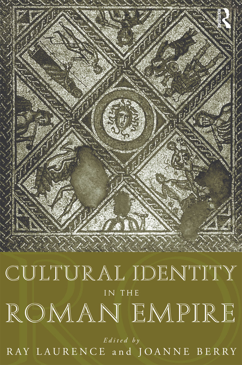 Cultural Identity in the Roman Empire: 1st Edition (Paperback) book cover
