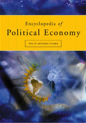 Encyclopedia of Political Economy: 2-volume set, 1st Edition (Paperback) book cover