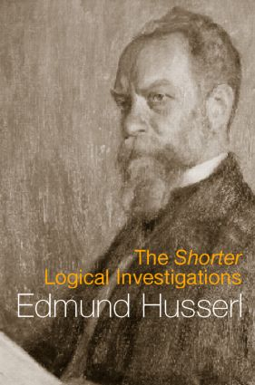 The Shorter Logical Investigations: 1st Edition (Paperback) book cover