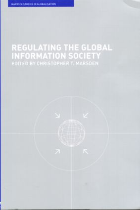 Regulating the Global Information Society: 1st Edition (Paperback) book cover