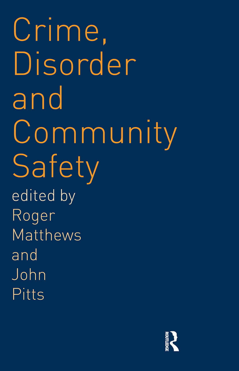 Crime, Disorder and Community Safety (Paperback) book cover