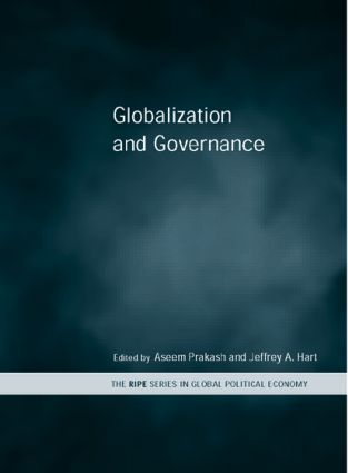 Globalization and Governance: 1st Edition (Paperback) book cover