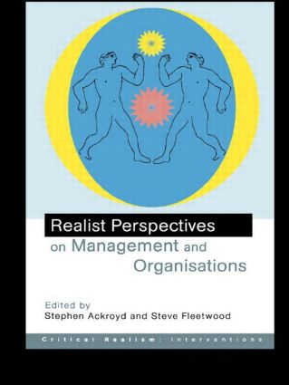 Realist Perspectives on Management and Organisations book cover