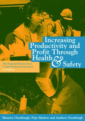 Increasing Productivity and Profit through Health and Safety: The Financial Returns from a Safe Working Environment, 1st Edition (Hardback) book cover