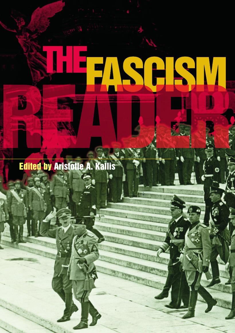 The Fascism Reader (Paperback) book cover