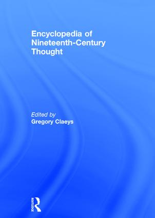 Encyclopedia of Nineteenth Century Thought (Hardback) book cover