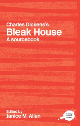 Charles Dickens's Bleak House: A Routledge Study Guide and Sourcebook (Paperback) book cover
