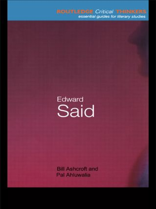 Edward Said book cover