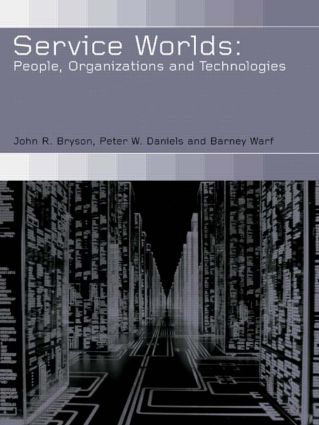 Service Worlds: People, Organisations, Technologies (Paperback) book cover
