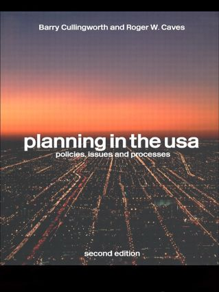 Planning in the USA: Policies, Issues and Processes, 2nd Edition (Paperback) book cover