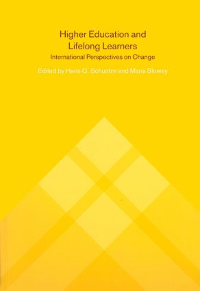 Higher Education and Lifelong Learning: International Perspectives on Change, 1st Edition (Paperback) book cover