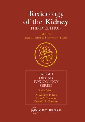 Toxicology of the Kidney, Third Edition book cover
